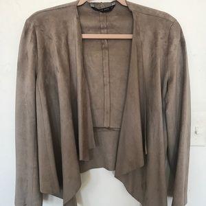 Zara suede jacket / blazer